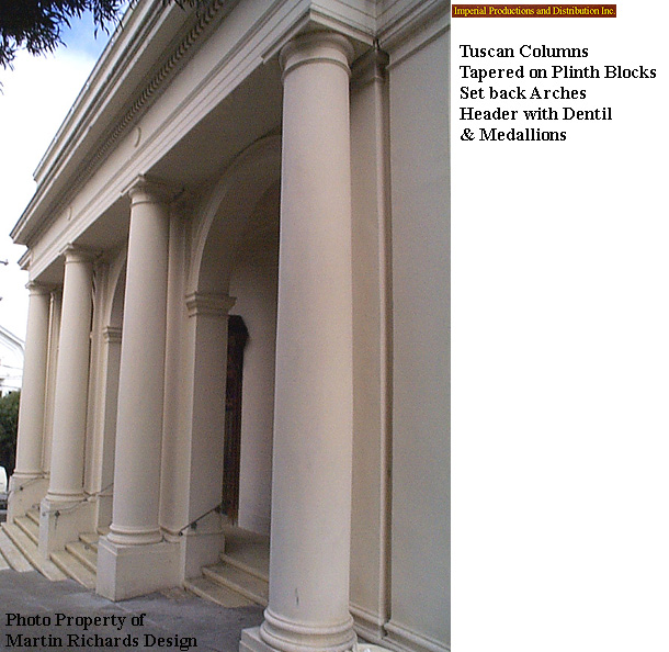 Architectural round wood columns colonial tuscan styles for Architectural wood columns