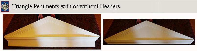 click for full page & Pediments door pediments window pediments roof gable design ... pezcame.com