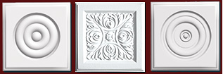 click for Square Rosettes