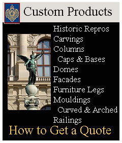 Custom made Architectural Products from Imperial Productions