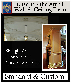 Boiserie - the art of wall and ceiling decor