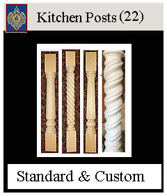 Kitchen Post selection custom and standard models