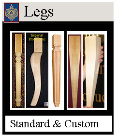 Furniture Legs custom and standard sizes from Imperial