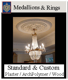 Medallions - Standard and Custom Sizes