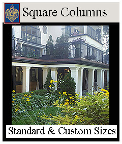 Square Load Bearing and Decorative columns