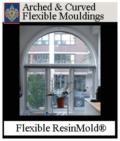100's of Flexible Arch and Curved Windows