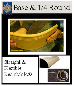Baseboards - flexible and straight lengths
