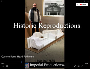 watch Youtube Video on Custom Ramshead Pediment