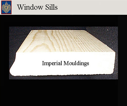 Imperial Productions Window Sills - copyright MRDCI