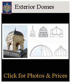 Exterior domes and structural domes