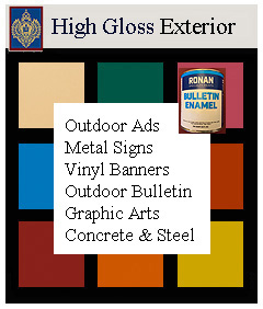 high gloss enamel exterior paints
