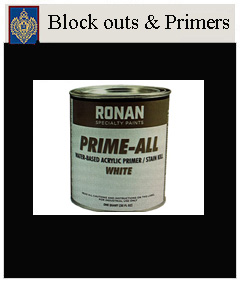 block outs & primers