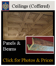 coffered ceilings, medallions, vaults and ceiling design