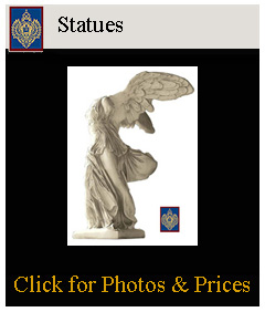 statues for garden or restaurant statues